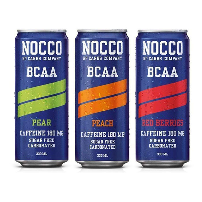Image of NOCCO Nocco BCAA 3 Cans Various
