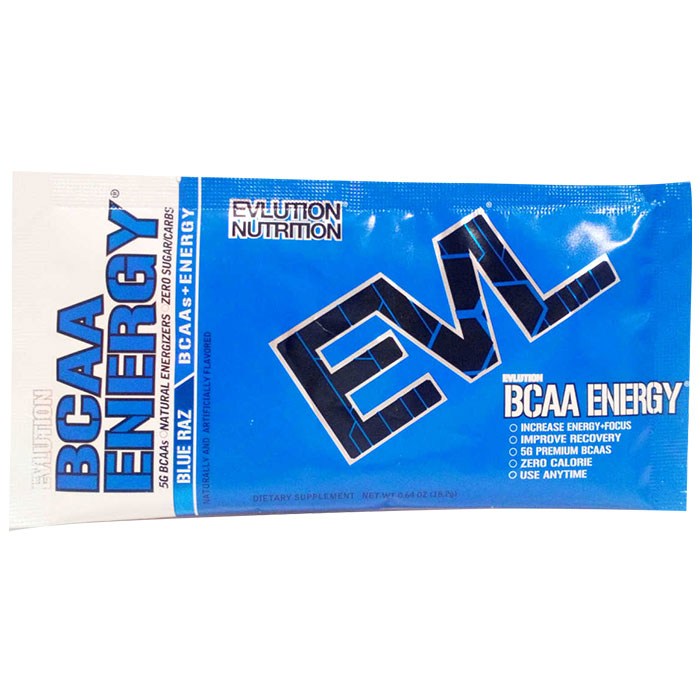 BCAA Energy Trial Serving Blue Razz