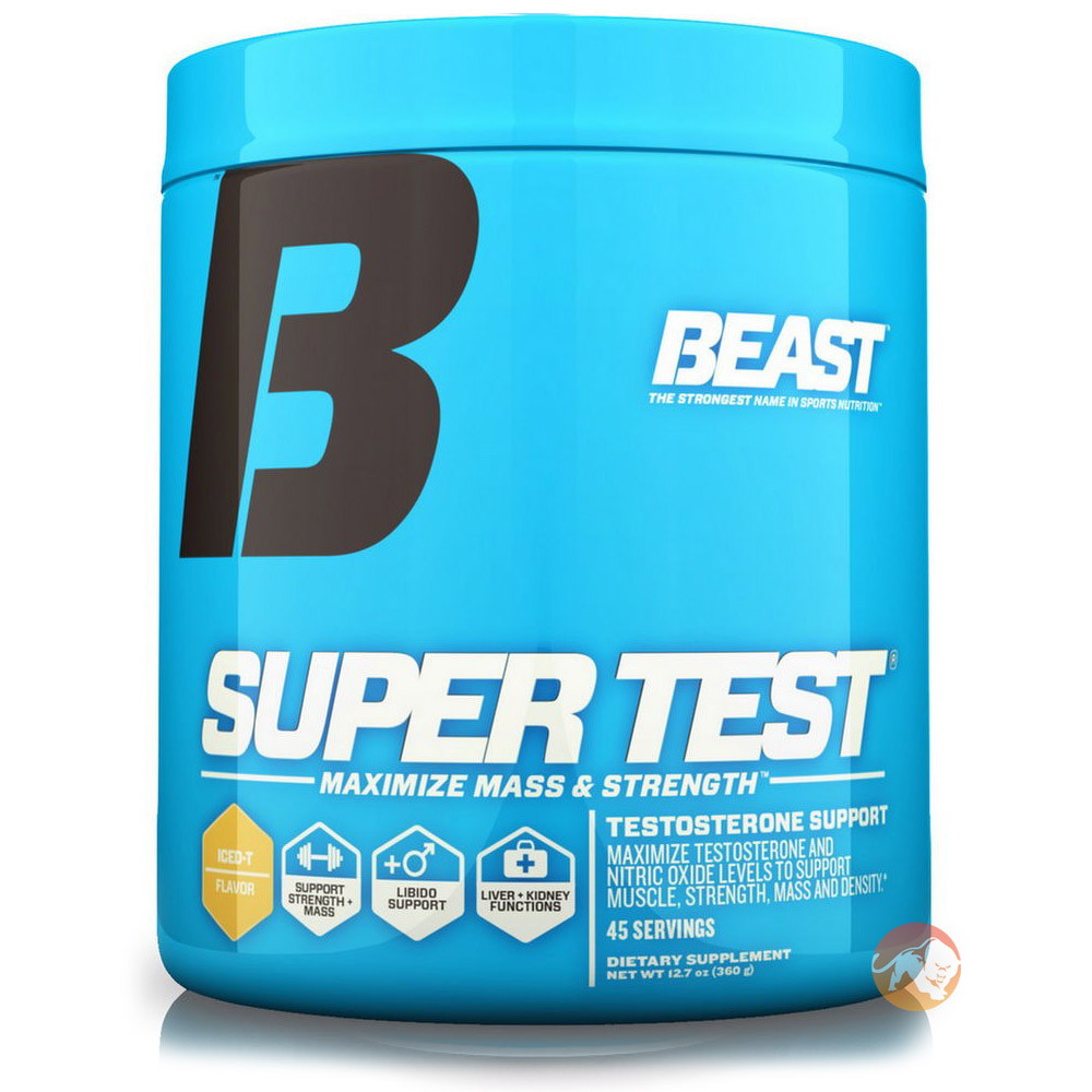 Super Test Powder 360g 45 Servings-Iced Tea