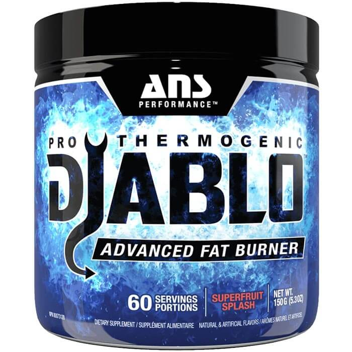 Image of ANS Performance Diablo 60 Servings Strawberry Kiwi