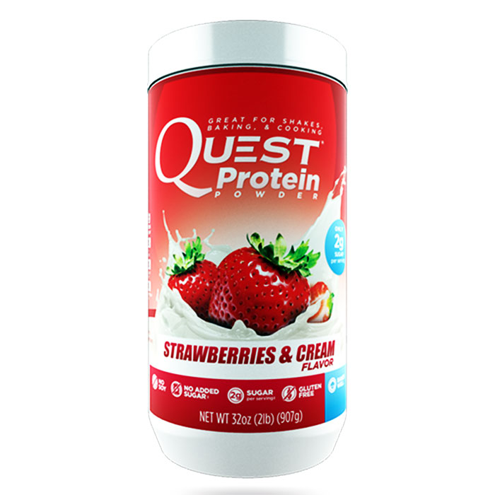 Quest Protein Powder 907g Strawberries & Cream