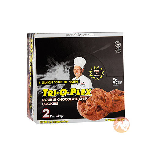 Trioplex Cookie Double Chocolate Chip Box of 12