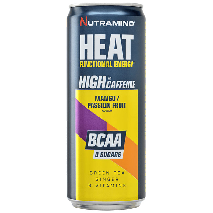 Image of Nutramino Heat BCAA 24 Cans Mango Passion Fruit