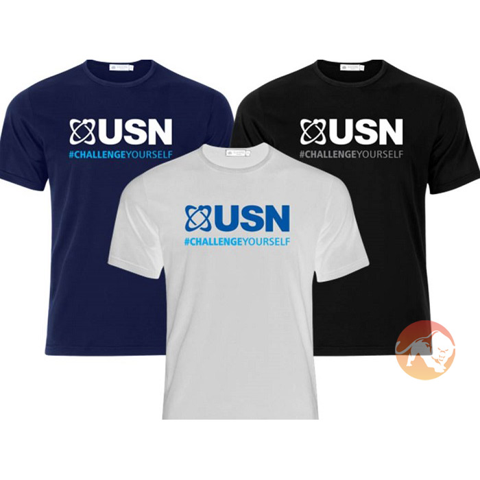 USN T-Shirt Medium White