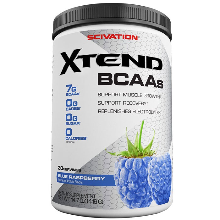 Image of Scivation Xtend 30 Servings Blue Raspberry