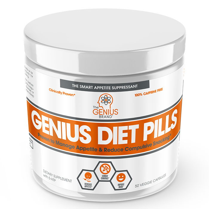 Image of The Genius Brand Genius Diet Pills 50 Caps
