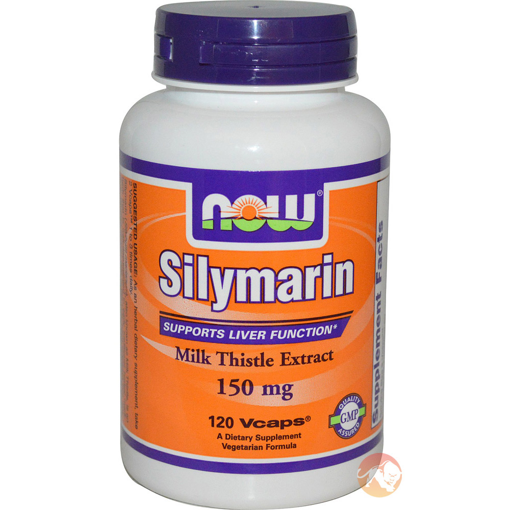 Image of NOW Foods Silymarin Milk Thistle Extract 150mg - 60 Vcaps