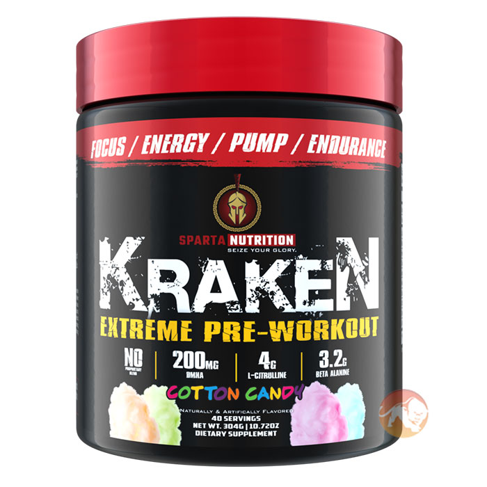 Image of Sparta Nutrition Kraken 40 Servings Cotton Candy