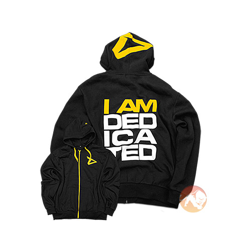 Dedicated Hoodie I Am Dedicated Medium