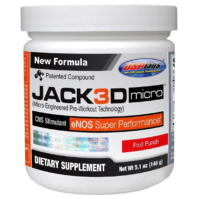 Image of USP Labs Jack3d Micro Fruit Punch