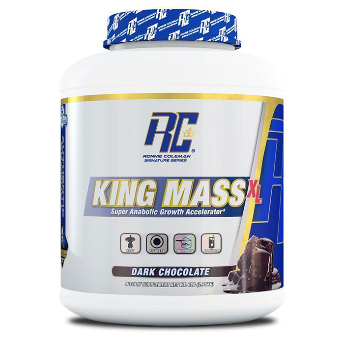 Image of Ronnie Coleman SignatureSeries King Mass XL 6lb Cookies & Cream