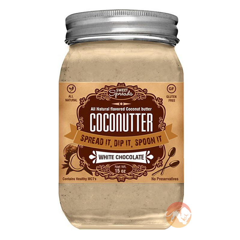 Coconutter 113g/4oz White Chocolate