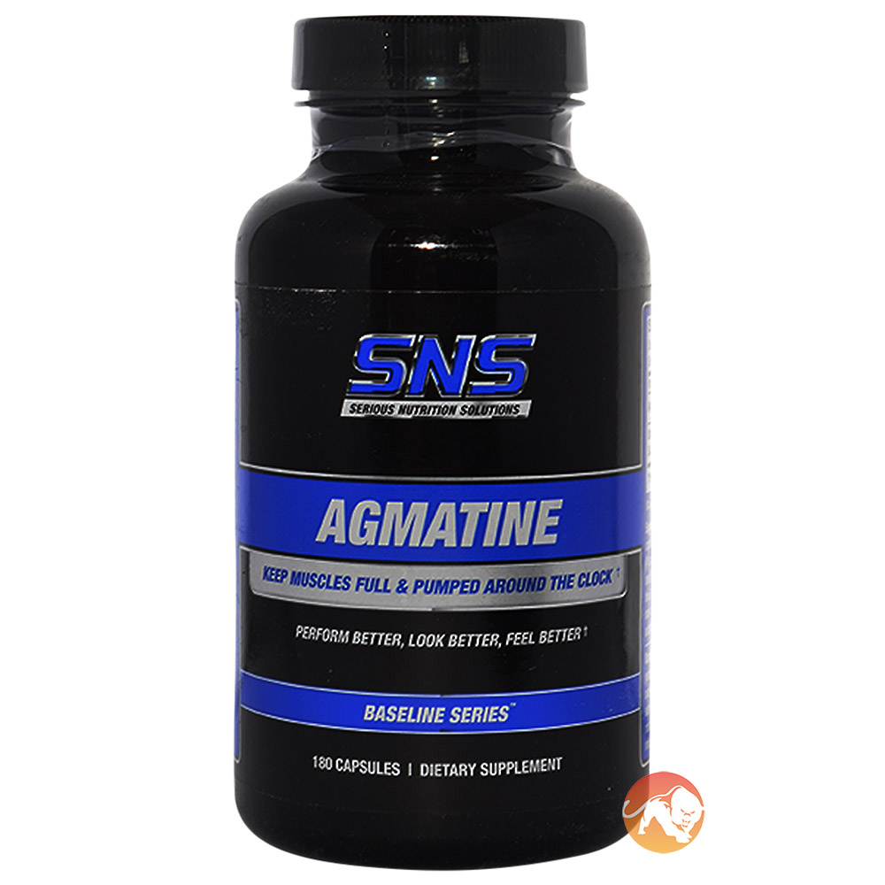 Image of Serious Nutrition Solutions Agmatine 180 Caps