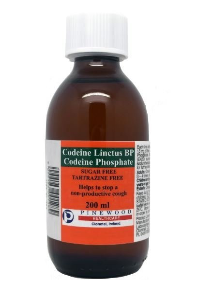 Codeine Linctus 15mg/5ml 200 ml