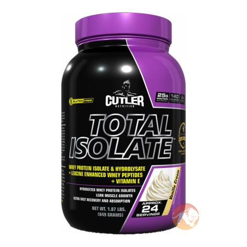 Cutler Total Isolate 907g Cookies & Cream
