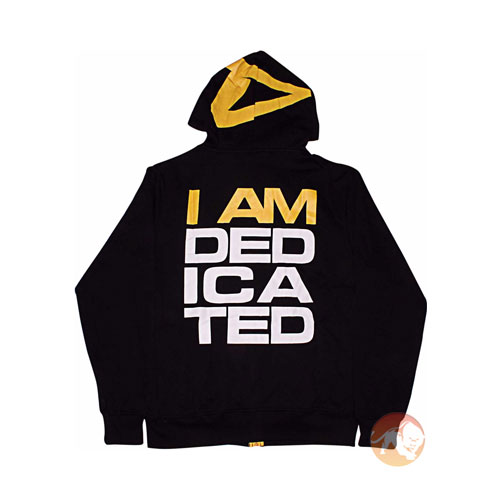 "Dedicated ""I am dedicated"" Slimfit Hoodie M"