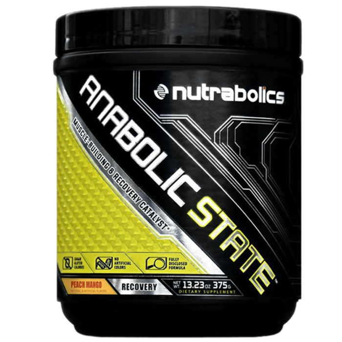 Image of Nutrabolics Anabolic State 30 Servings Peach Mango