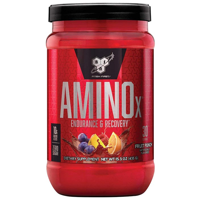 Image of BSN Amino X 30 Servings - Fruit Punch