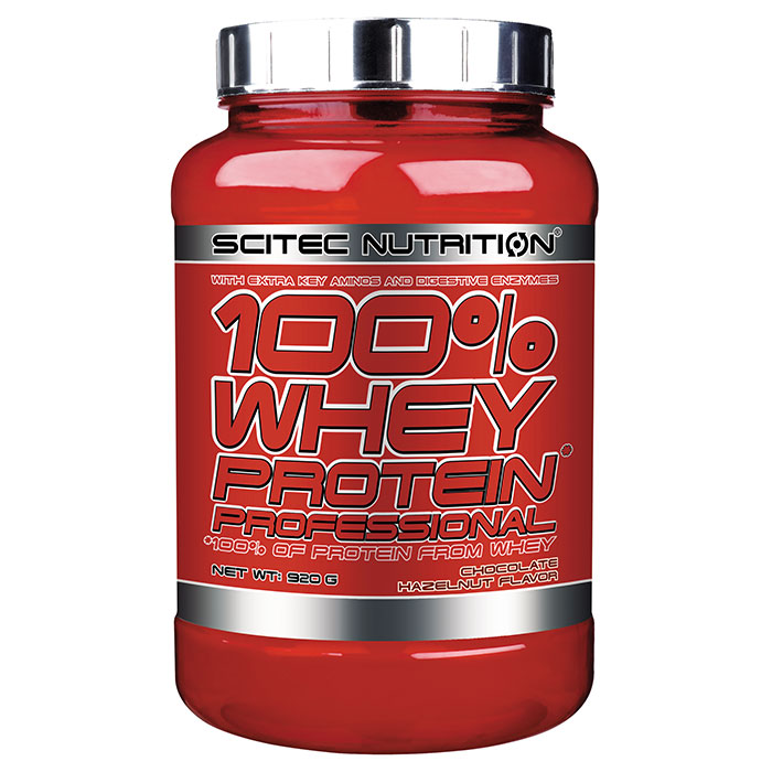 100% Whey Protein Professional 920g Chocolate Hazelnut