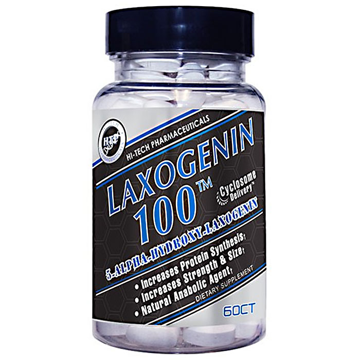 Image of Hi-Tech Pharmaceuticals Laxogenin 100 60 Tablets
