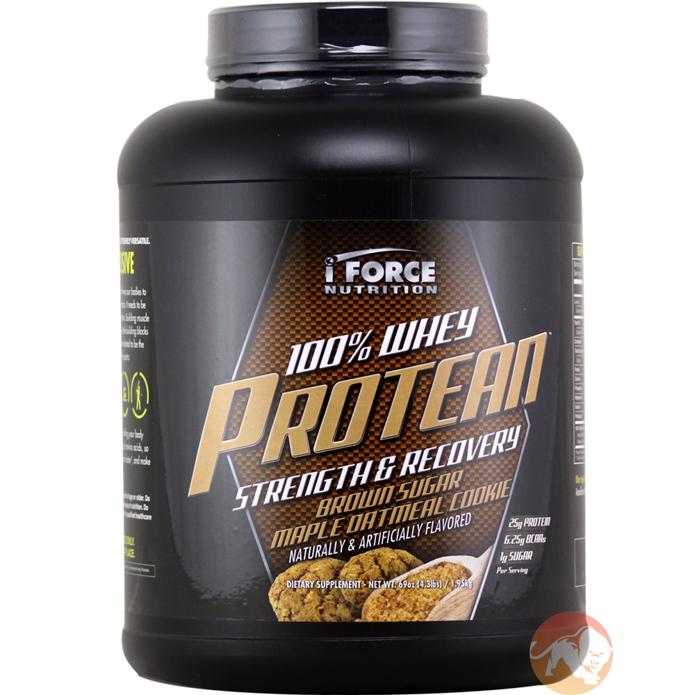 100% Whey Protean 4.3lb (2kg)-Brown Sugar Maple Oatmeal Cookie