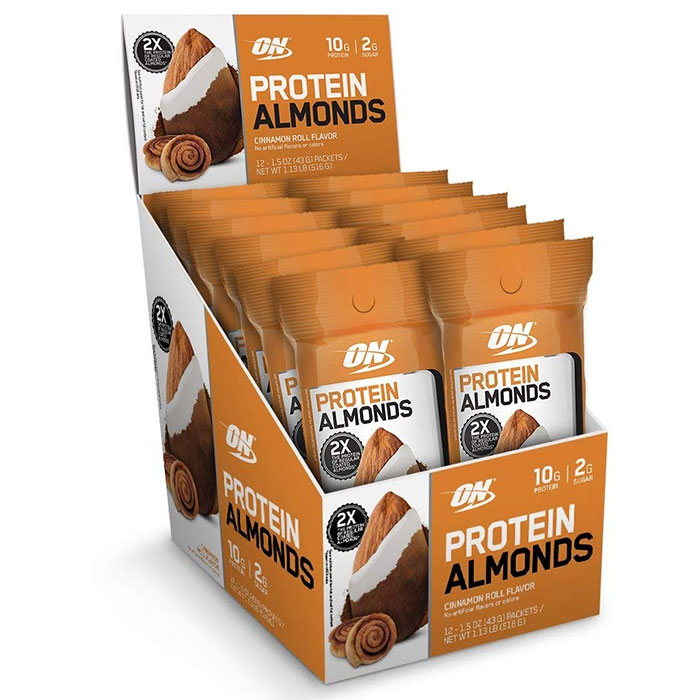 Protein Almonds 12 Pack Chocolate Peanut Butter