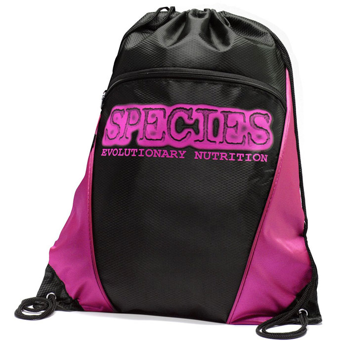 Image of Species Nutrition Species Drawstring Bag Green