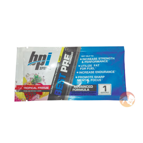 BPI Best Preworkout Trial Serving
