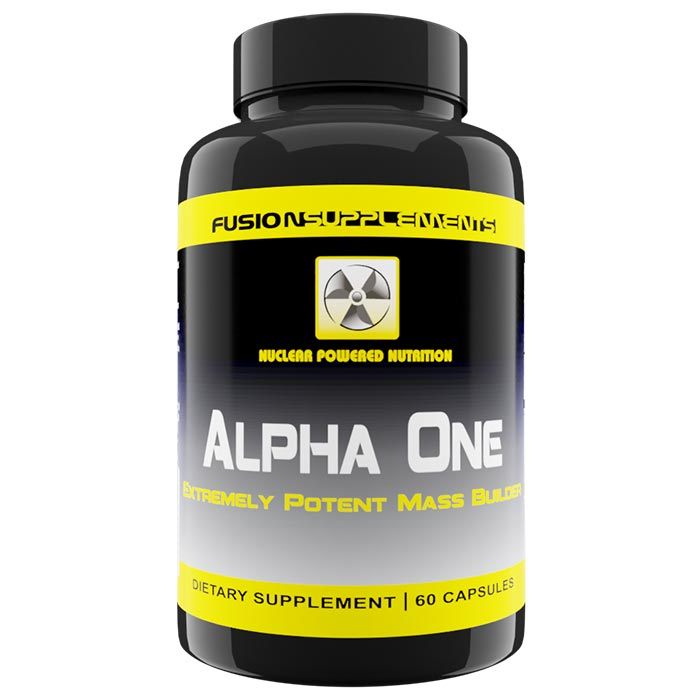 Image of Fusion supplements Alpha One 60 Capsules