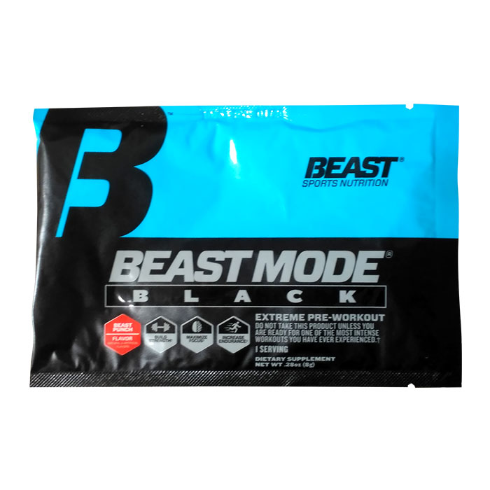 Image of Beast Sports Nutrition Beast Mode Black trial serving