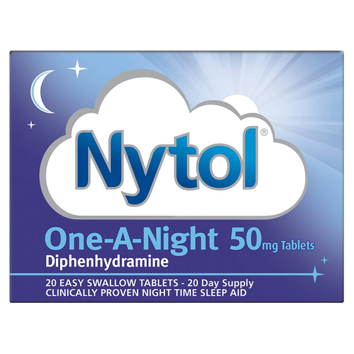 Image of Pharmacy Medicines Nytol One a Night 20 Tablets