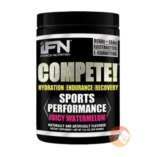 Image of IForce Nutrition Compete 50 Servings Rainbow Sherbert