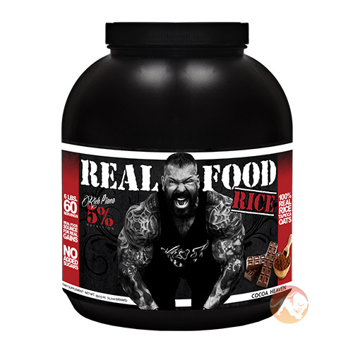 Image of 5% Rich Piana Real Food Rice 1.8kg Cocoa Heaven