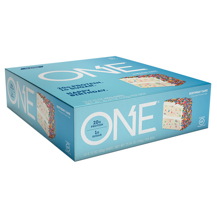 Image of Oh Yeah Nutrition Oh Yeah One Bar 12 Bars Birthday Cake