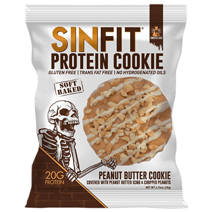 Sinfit Protein Cookie 1 Cookie Peanut Butter