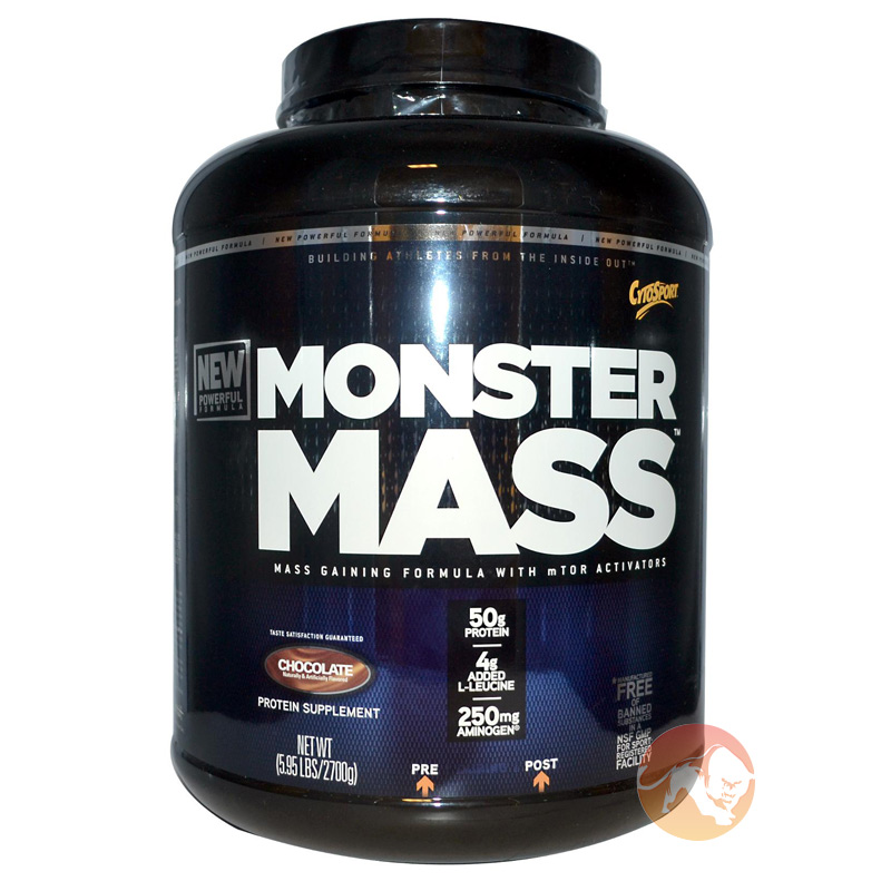 Image of Cytosport Monster Mass 2.7kg - Chocolate