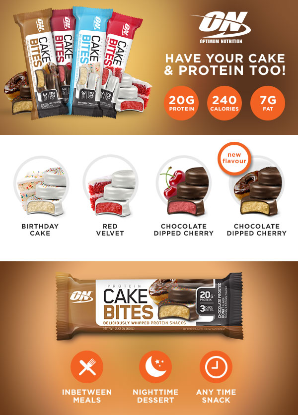 Buy Optimum Nutrition Cake Bites Uk Protein Bar Great
