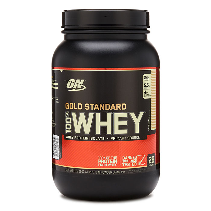 Gold Standard 100% Whey 2lb - Banana Cream