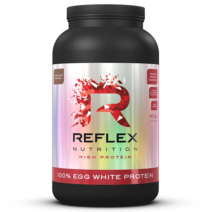 Image of Reflex 100% Egg White Protein 900g Chocolate