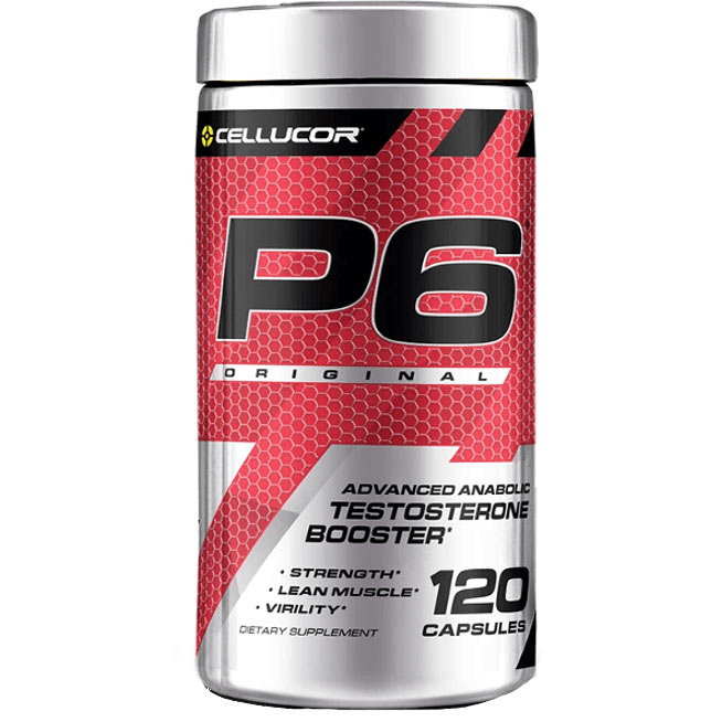 Buy Cellucor P6 Original Natural Testosterone Booster Great Reviews