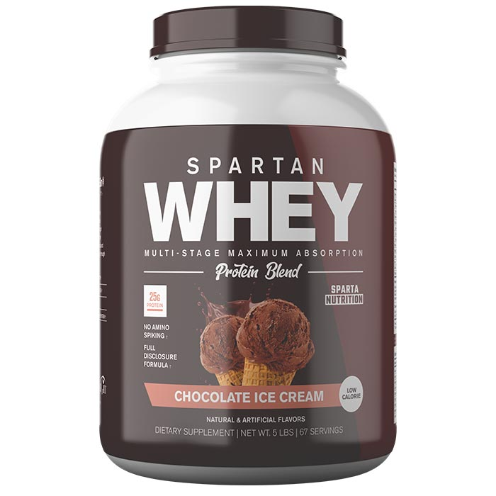 Image of Sparta Nutrition Spartan Whey 5lb Chocolate Ice Cream