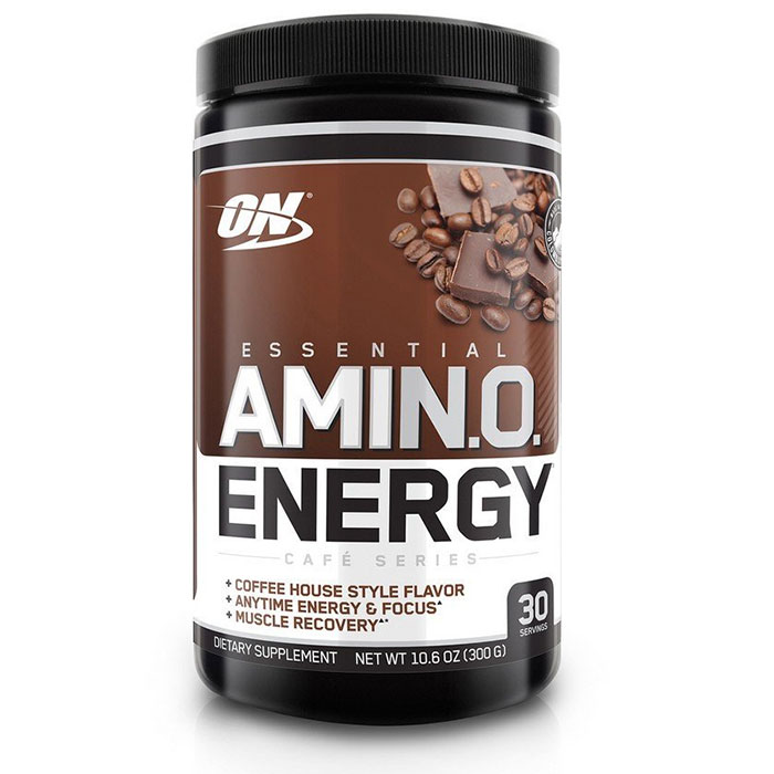 Amino Energy Exclusive Flavours 30 Servings Iced Mocha Cappuccino
