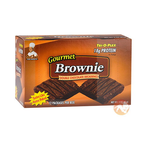 Trioplex Gourmet Brownie Double Chocolate Decadence Box of 12