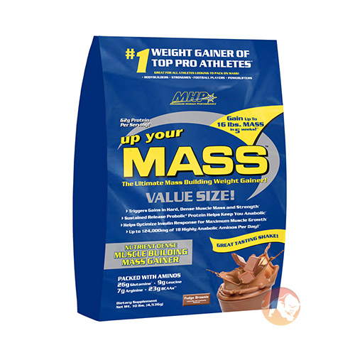Image of MHP Up Your Mass 10lb - Fudge Brownie