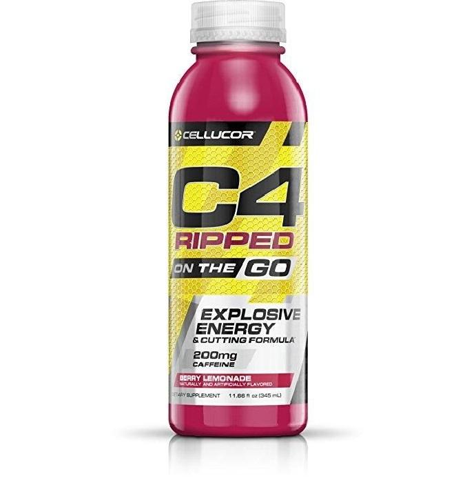 Image of Cellucor C4 Ripped On The Go 12x296ml Berry Lemonade