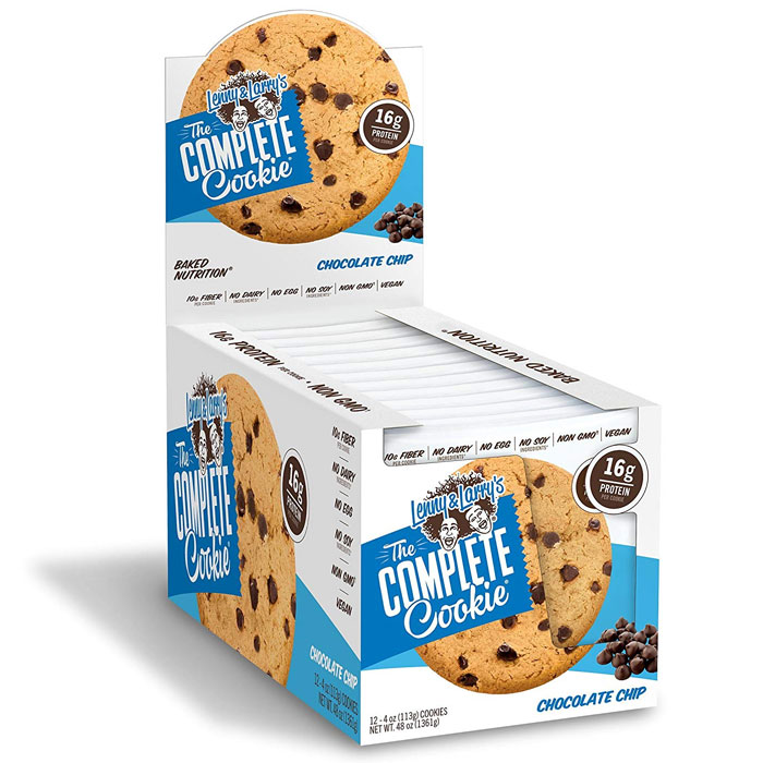 Image of Lenny & Larry's Complete Cookie 12 Pack Chocolate Chip