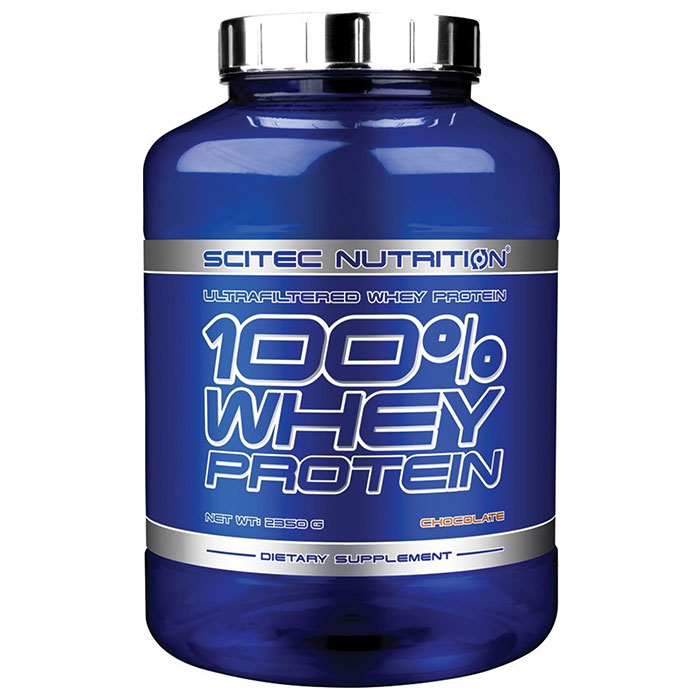 100% Whey Protein 2350g Strawberry