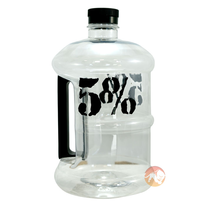 5% Nutrition Half Gallon Jug Black