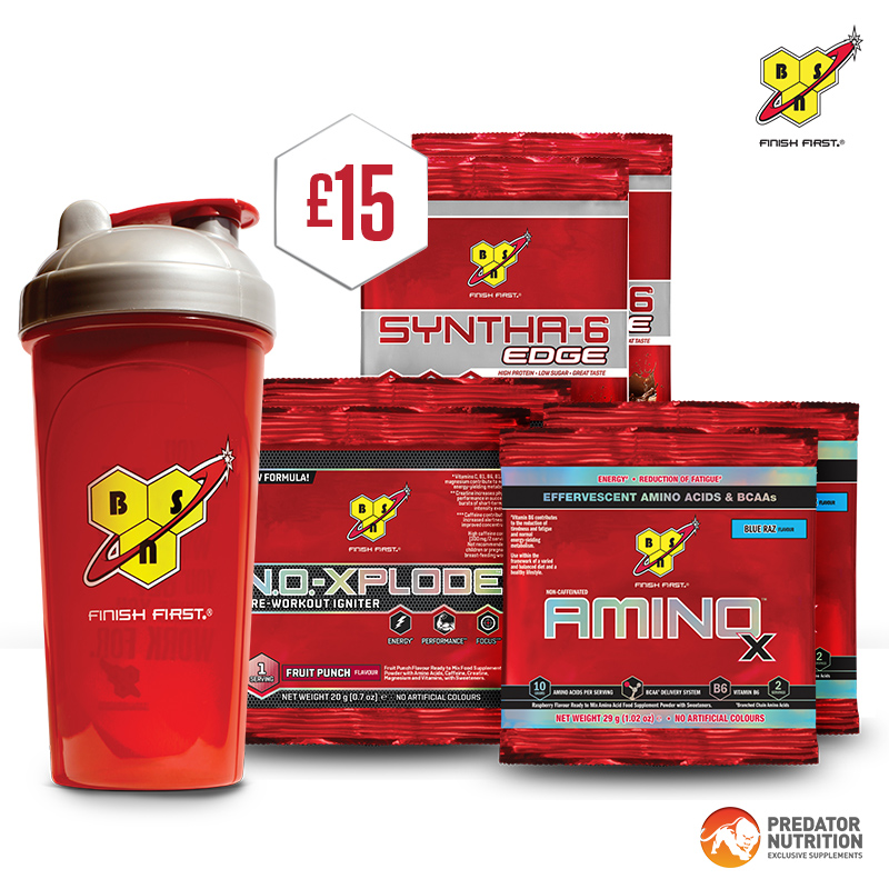 BSN Gift pack worth £15
