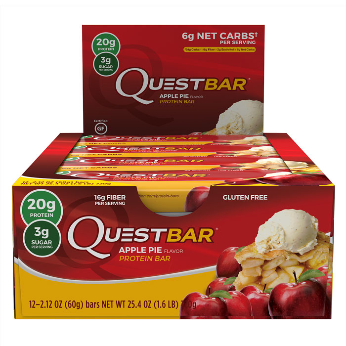 Image of Quest Nutrition Quest Bars 12 Apple Pie